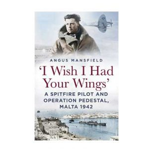 I Wish I Had Your Wings by Angus Mansfield book cover small