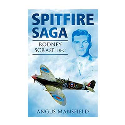 Spitfire Saga by Angus Mansfield cover small