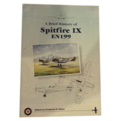 A Brief History of Spifire IX EN 199 by Frederick Galea book