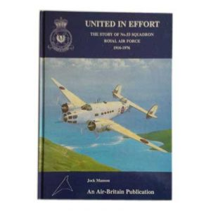 United in Effort - The Story of No 53 Squadron RAF 1916-1976 by Jock Manson book