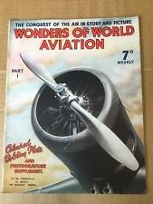 Wonders of the World Aviation Magazines edited by Clarence Winchester